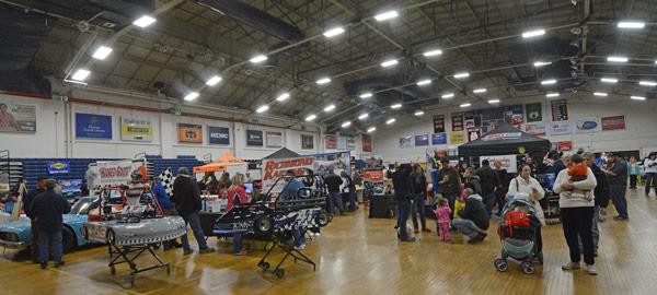Racin Preview Portland ME - Portland expo car show